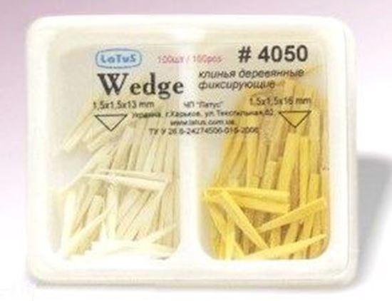 4050 Набор клиньев деревянных фиксирующих (100шт)