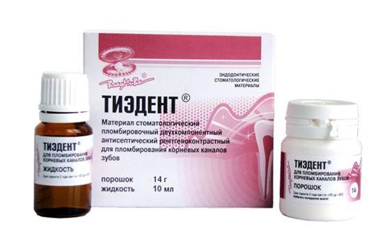 Тиэдент /порошок 14г + жидкость 10мл