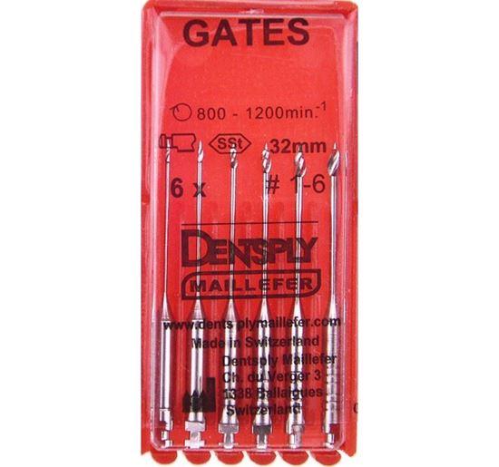 Развертки GATES Glidden Drill (Гейтс Глиден Дрил)