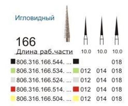 166 Бор игловидный