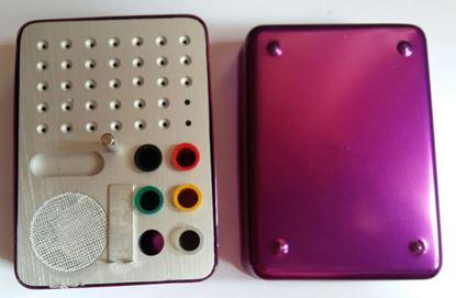 Эндобокс цветной комбинированный