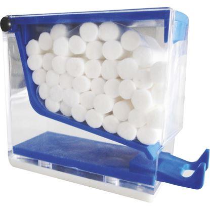 Диспенсер для ватных валиков (Пластмассовый контейнер)