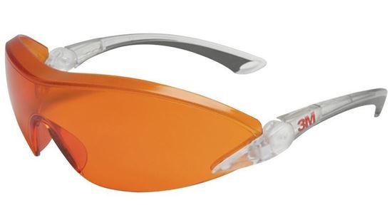 Очки защитные AS/AF 2846 красно-оранжевые