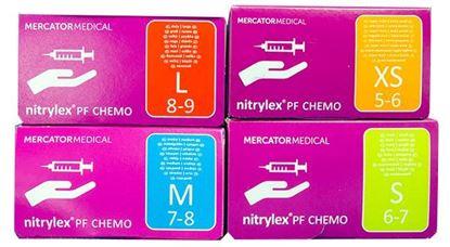 Nitrylex PF Chemo перчатки нитриловые неопудренные (Нитрилекс хемо)