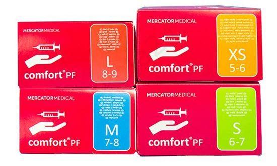 Comfort PF перчатки латексные неопудренные (Комфорт ПФ)