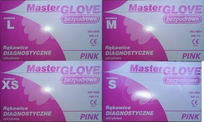 Master Glove перчатки нитриловые неопудренные Top Glove (Мастер Глов)
