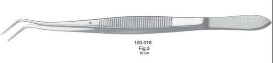 Пинцет стоматологический Meriam 100-018