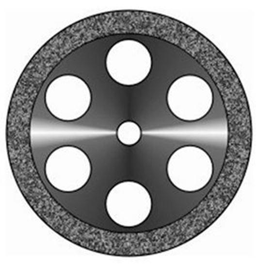 Диск алмазный ободок 6 отверстий 22мм АГРИ