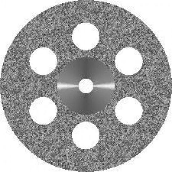 Диск алмазный сплошной 6 отверстий 22мм АГРИ