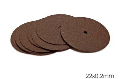 Диск сепарационный для металлов 22х0.2мм ультратонкий