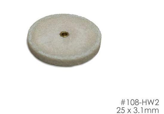 Шлифовальный круг 25х3.1мм