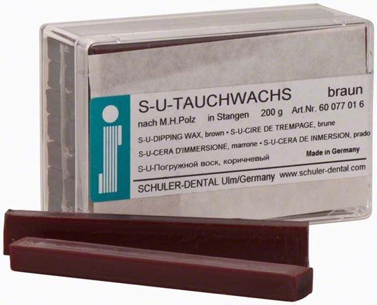 S-U-TAUCHWACHS воск погружной твердый 200г SCHULER DENTAL