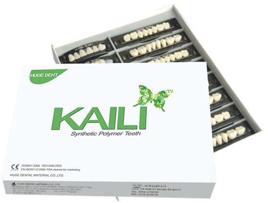 Гарнитур зубов Kaili (полный набор) оттенок А3.5 HUGE DENT