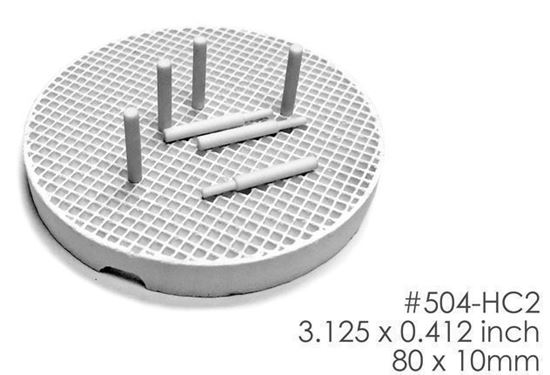 Сотовый трей (тригер, подставка) круглый 10 керамических штифтов