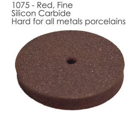 Полировальный резиновый круг красный 1075
