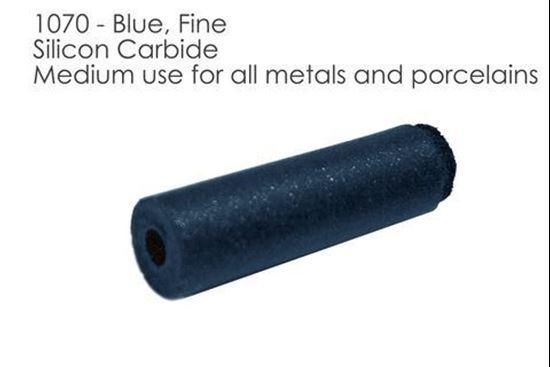 Полировальная резинка синяя цилиндр 1070