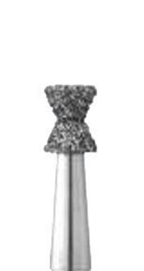 Комбинированная двухконусная форма бор алмазный