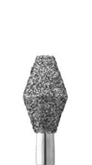 Ромбовидная форма бор алмазный (окклюзионный)