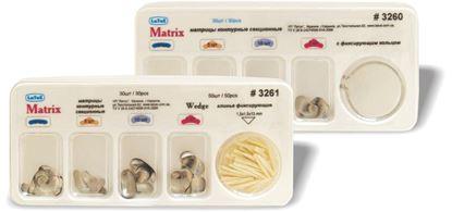 3260, 3261 Набор матриц металлических контурных секционных