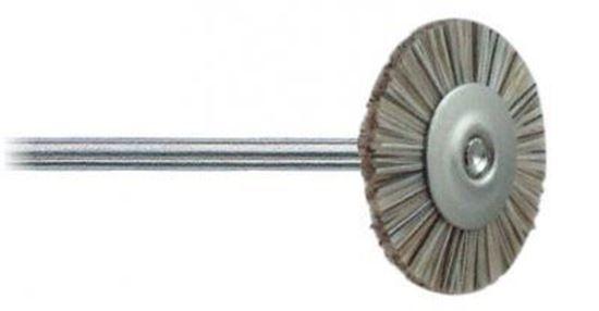 Щетка из щетины средняя белая 18мм