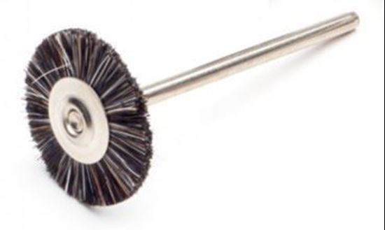 Щетка из щетины жесткая черная 18мм