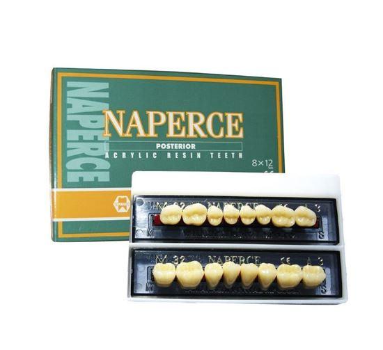 NAPERCE планка жевательных нижних зубов (8шт) Yamahachi