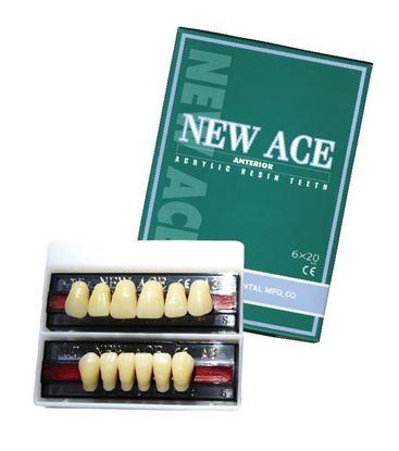New Ace планка фронтальных верхних зубов (6шт) Yamahachi